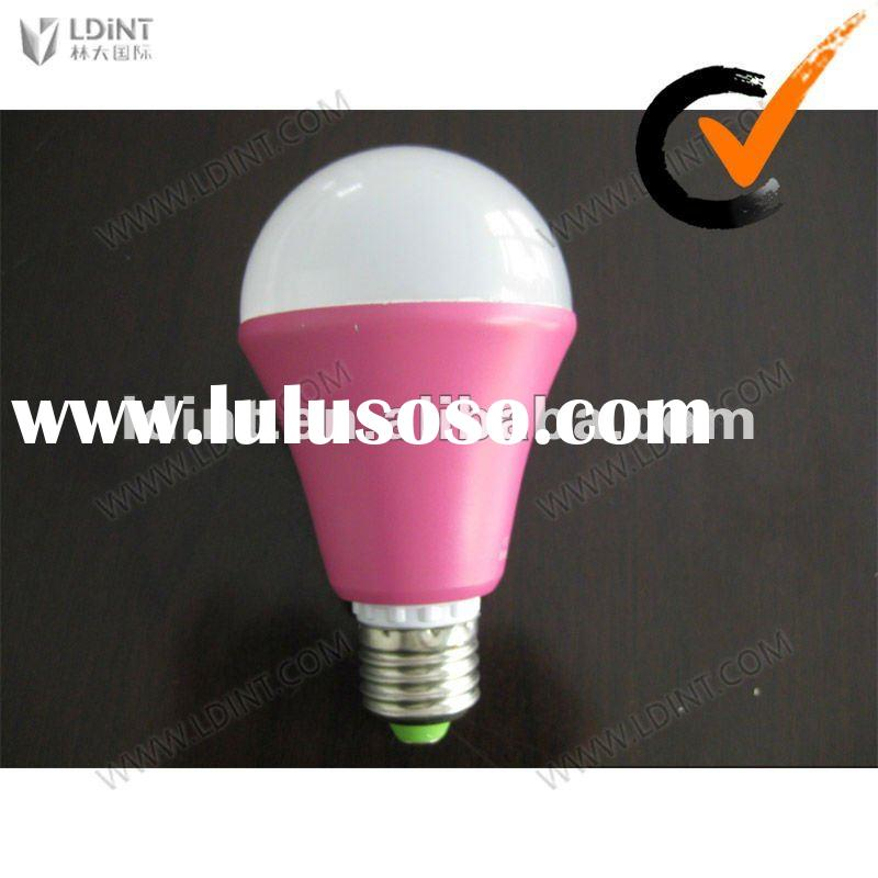 5W E27/E14/B22/GU10 LED bulb with CE & RoHS