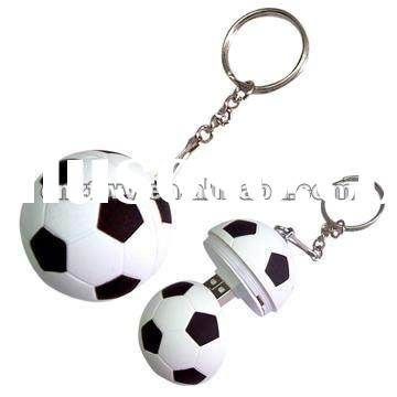 Fashion gift Football usb flash drive with your company logo