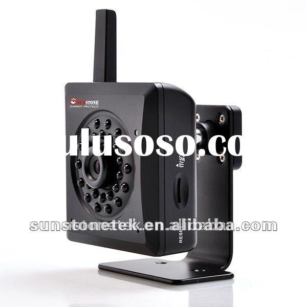 IP network Camera networkcamera IP-109WF with True day/night color images, on-camera recording/stora