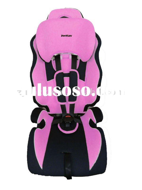 ece certificated safety child baby car seat booster seat 9-36KG Group I II III(9m-12y)