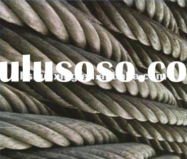 Hot sales !!! Nominal tensile strength of steel wire rope