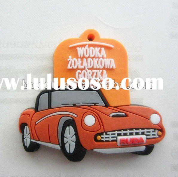 custom car soft pvc key chain