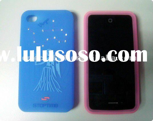 Fashion smart silicone mobile phone case