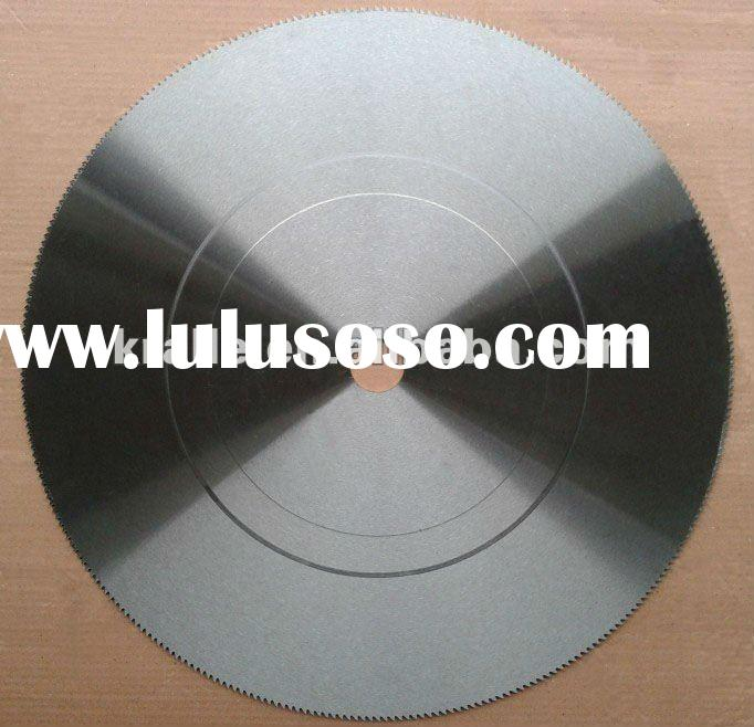 Friction saw blade for iron and cold cutting wood