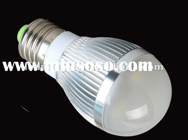 high brightness high power e27 led bulb light 3w