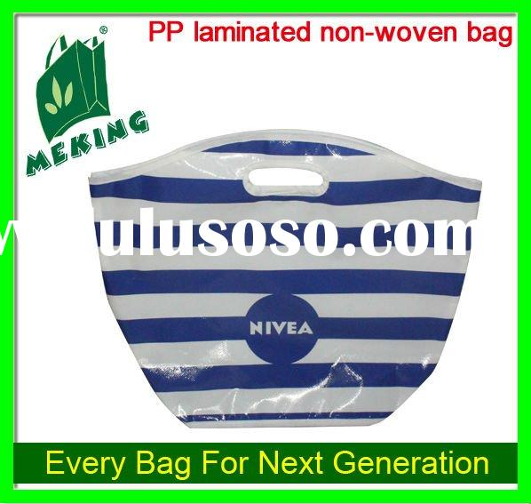 punch laminated bag , special non woven bag , strip bag