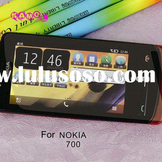 three layer clear mobile phone tough screen protector for Nokia N9