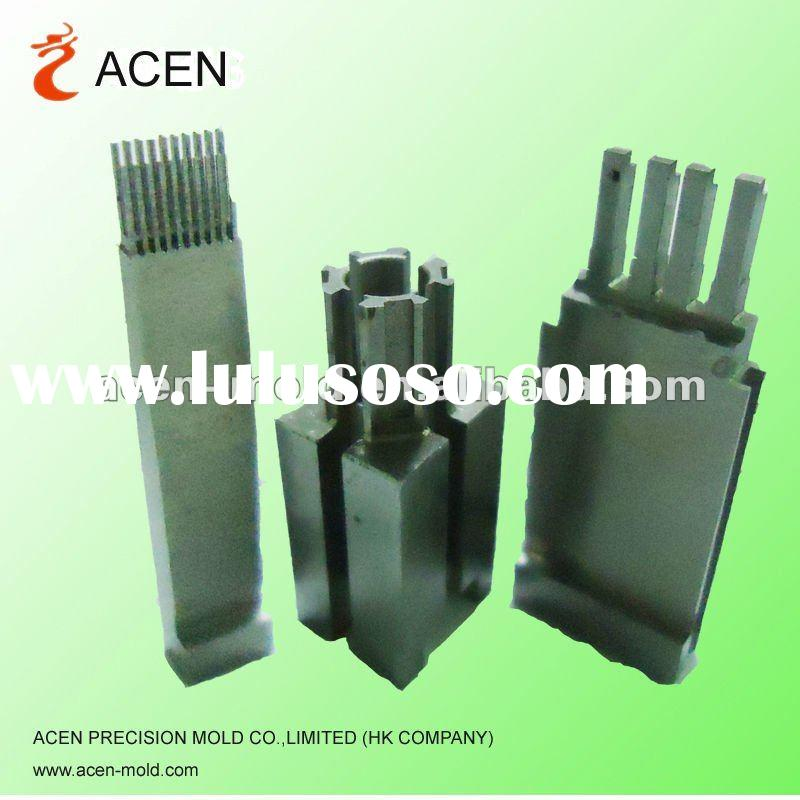 Mould part making for connector