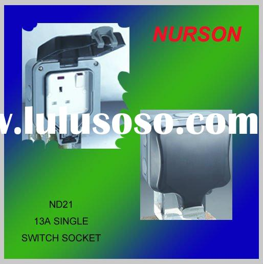ND Series Newest Water Proof Switch/Electrical Switch/Weatherproof Wall Switch