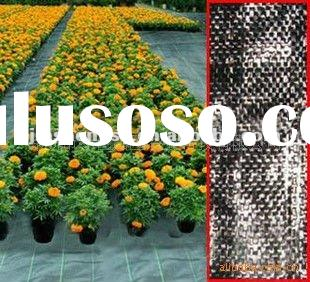 PP woven weed control mat ,weed barrier