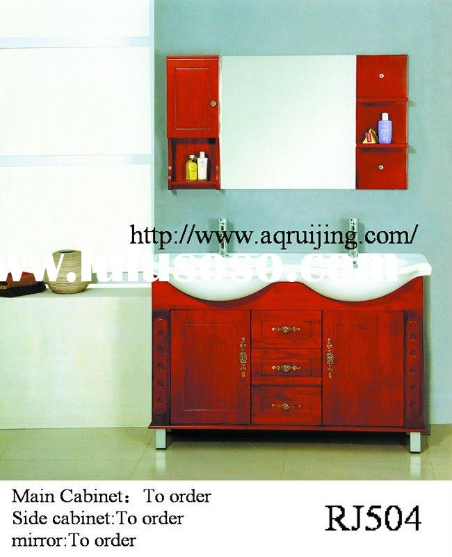 RJ504 Solid Wood bathroom cabinet