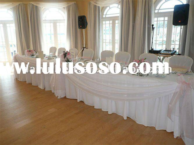 Wedding Table Decoration Organza Fabric