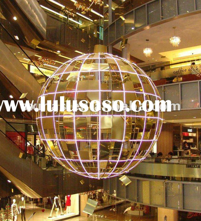 led christmas ball for outdoor light decoration