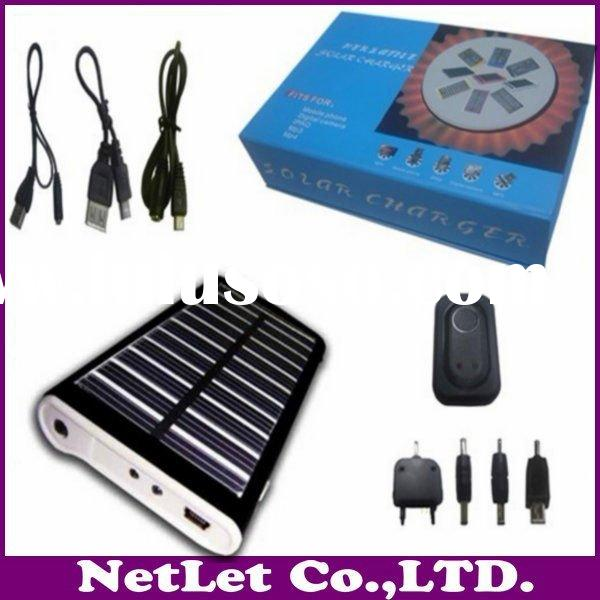 Solar Charger with 1,800mAh Capacity, for All Mobile Phone, Apple's iPhones and Digital Came