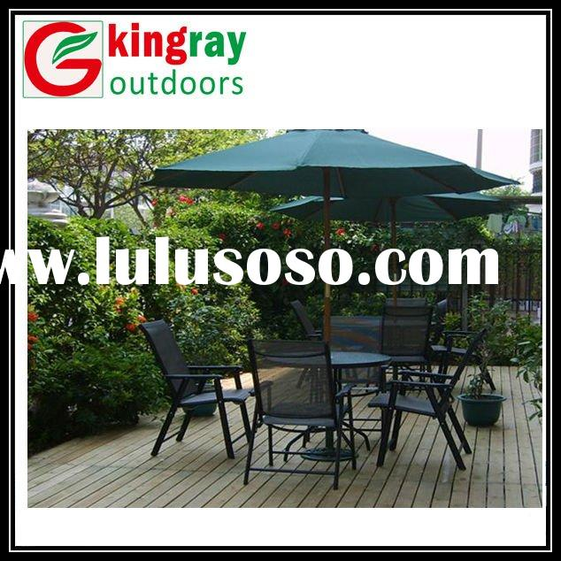 2012 outdoor table chair with umbrella