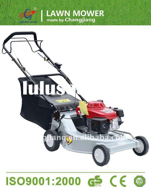 "22"" self propelled gasoline lawn mower with aluminium deck grass cutter and garden tools (CJ22Z"
