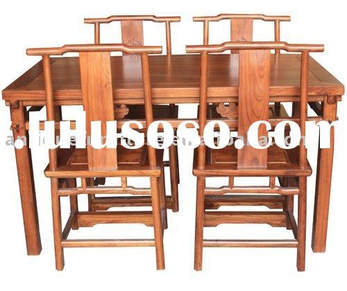 Dining table and chairs,Chinese furniture