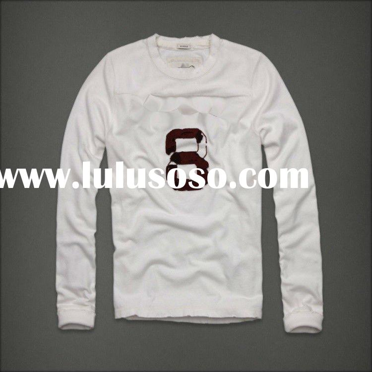 Discount!A/Fit men's long-sleeve t-shirts