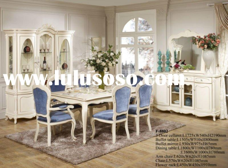 French style romantic dining table and chair FH-L-8802