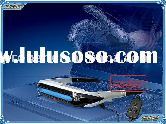 LATEST!!! 3d 80 inch video glasses highest resolution 1024x768 3d video glassesACCEPT PAYPAL