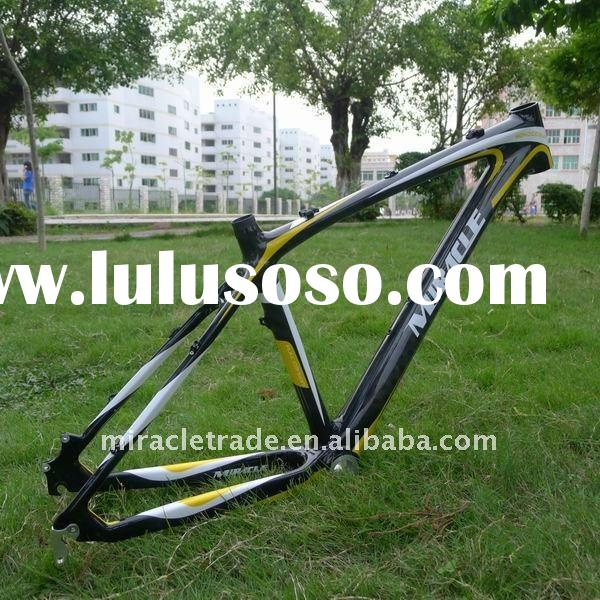 MIRACLE BRAND Sale 3K&12k Carbon Fiber MTB Frame Mountain Bike 3k/12k, bicycle frame . bicycle p
