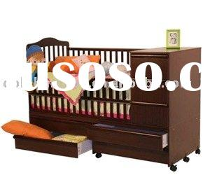 Sell 4 in 1 Baby Cribs with change table,modern baby cribs with drawer