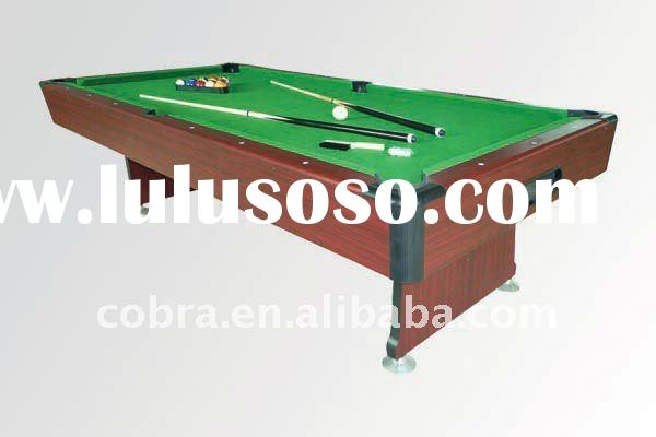Top Billiard Pool table with ball return system , full accessories