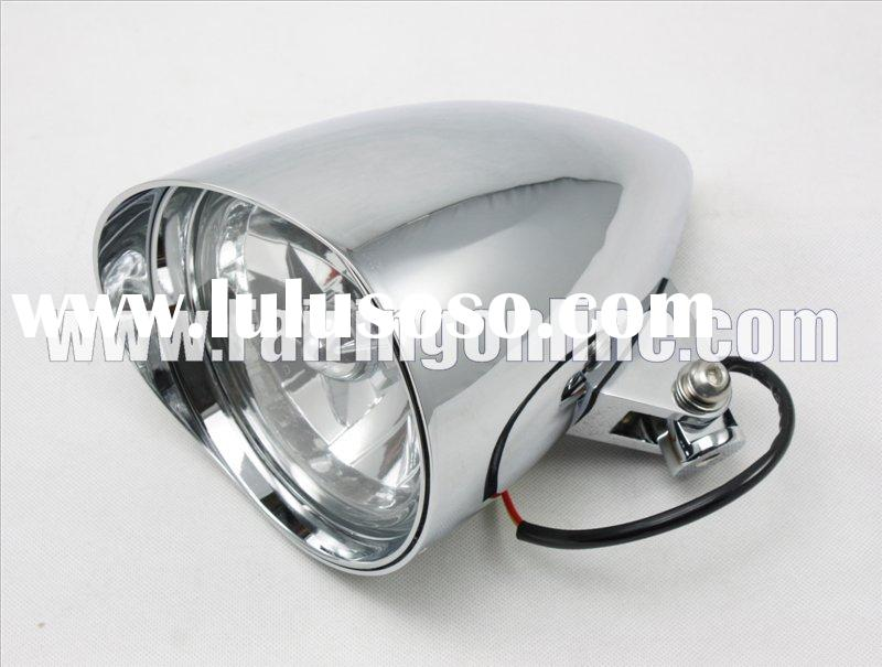 Universal Headlight Visor Light For Harley Davidson New