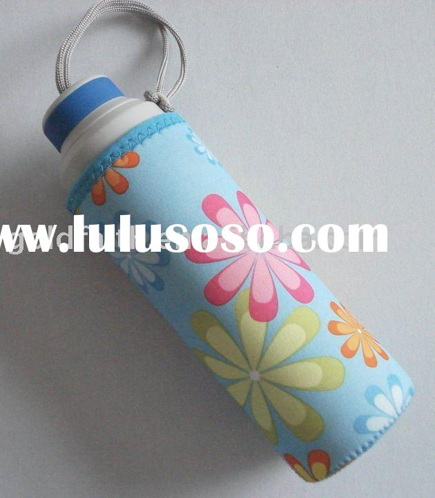 fashion bottle cooler water bottle covers sport bag neoprene
