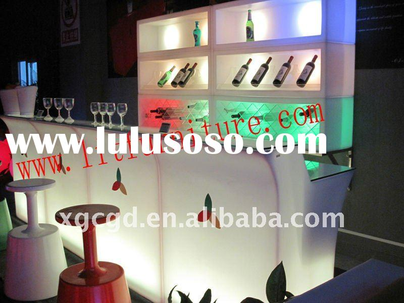 led bar table/led bar/led bar furniture/led lighted bar furniture