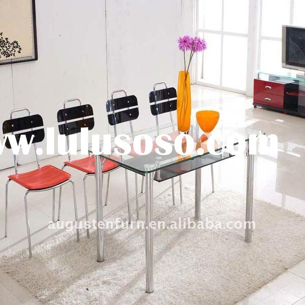 modern design dining table and chairs