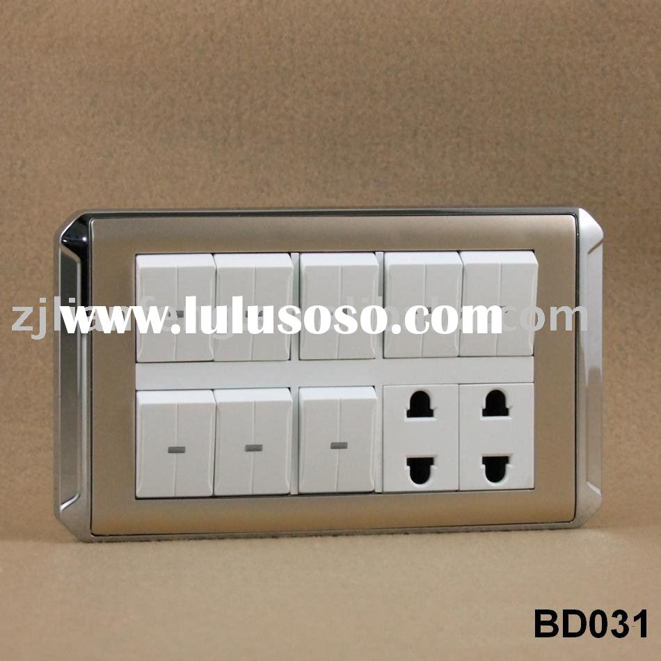 switch socket, wall switch, wall socket