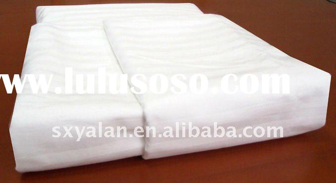 100% cotton stripe/plain/jacquard hotel duvet cover