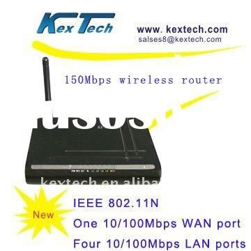 150Mbps wireless internet wlan router for broadband