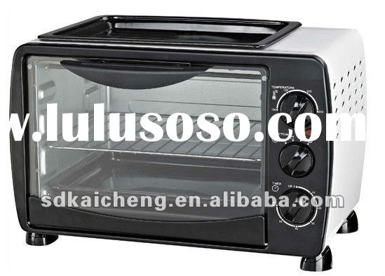 18L Electric toaster oven with frying pan