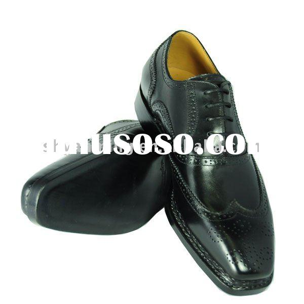 2011 fashion men's leather dress shoes
