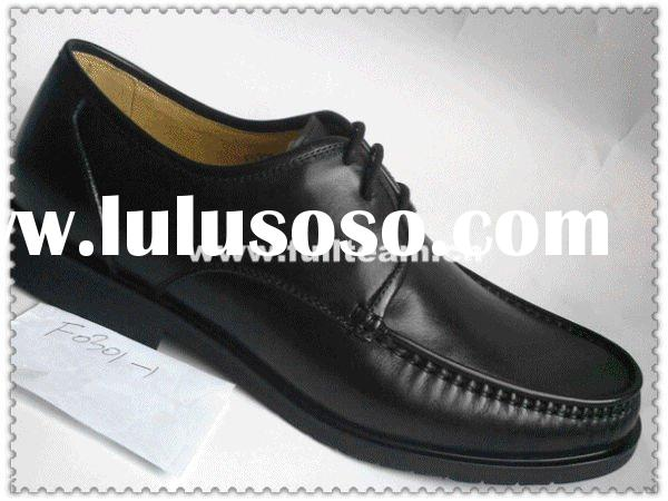 2011 genuine leather men's dress shoes
