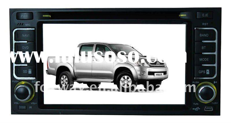 "6.5"" HD Toyota Hilux Double Din Car DVD With GPS"