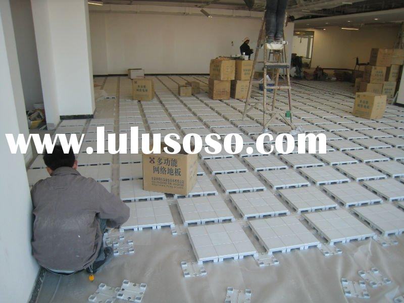Plastic raised floor plastic raised floor manufacturers for Elevated floor