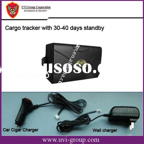 Asset Tracking System with 60-day-standby GPS Tracker for Money Box Tracking, Strong Magnetic Cover