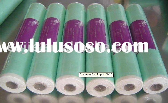 Disposable paper roll/ paper rolls/ paper sheet/ medical bed sheet/ bed cover sheet