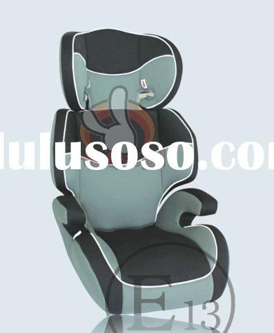 ECE toddler car seat with mesh/knitted fabric covers