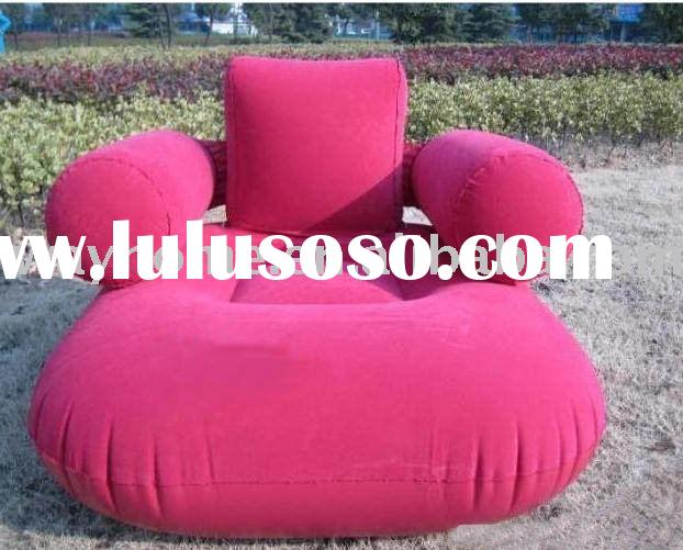 FLOCKED INFLATABLE AIR SOFA BED MATTRESS,SOFA pool lounge with pump,SOFA COUCH PLUSH,stool,camping,p
