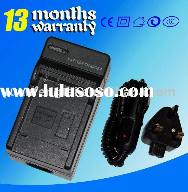 For PANASONIC CGA-S/106C DMW-BCF10 DMW-BCF10E Digital Camera Camcorder Battery Charger