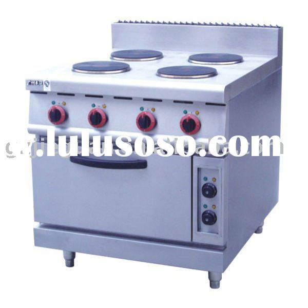Free Standing Stainless Steel Electric Range with Oven