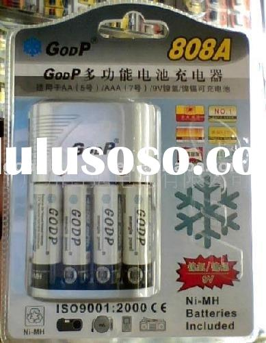 GODP-808A *AA+AAA multi-function battery charger