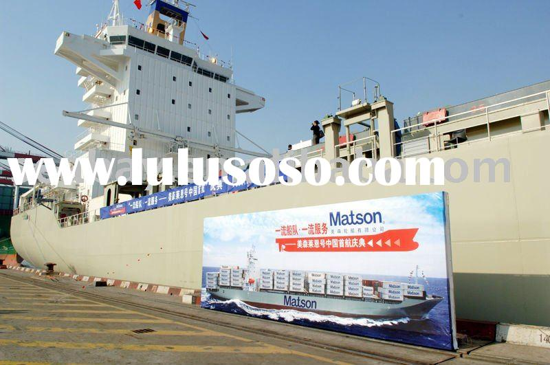 Heavy container from China to United States