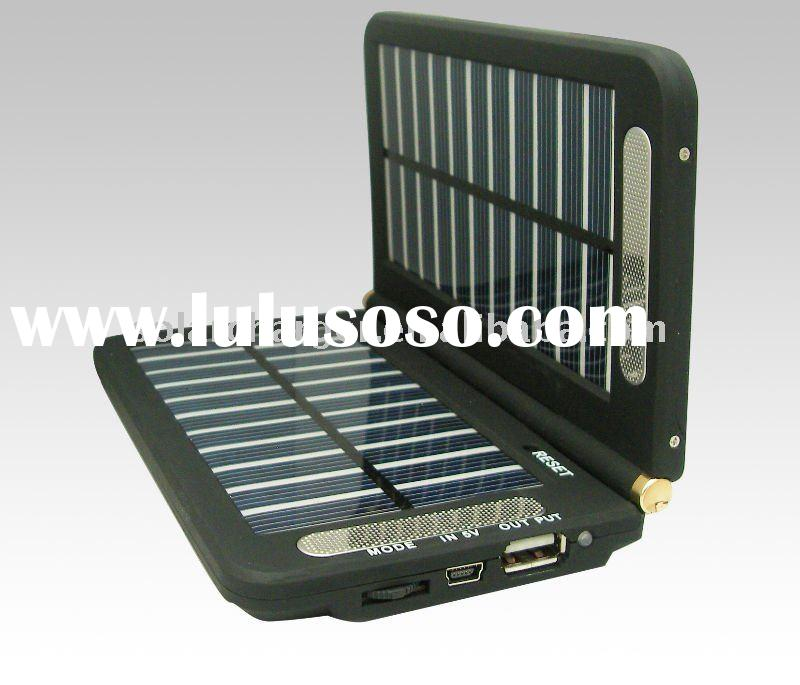 Hottest Portable Solar Charger For Mobile Phone /DV/MP3/MP4/PSP