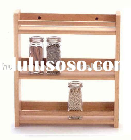wooden rack for kitchen