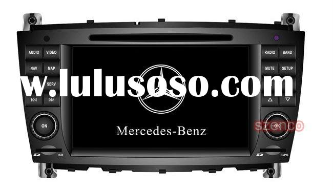 Mercedes Benz CLK W209 class car dvd player with gps navigation stereo system